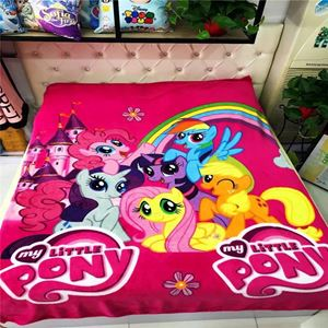 PONY FLEECE SOFT BLANKET