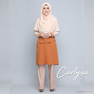 CARLYSA BATCH 3 (ALMOND BROWN)