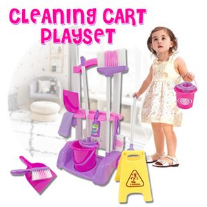 CLEANING CART PLAYSET