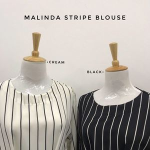 MALINDA STRIPE BLOUSE