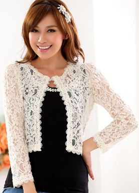 YJ20 (Cardigan / 小外套) Colour : Black, Beige