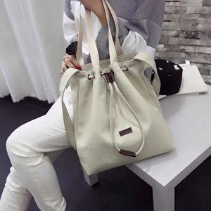 Denim 2way Bag Milky White