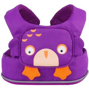 ToddlePak Safety Rein - Purple Ollie Owl