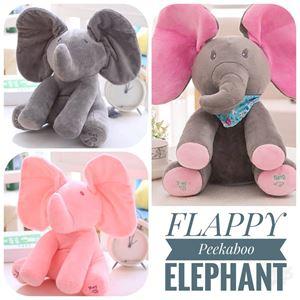Flappy Peekaboo Elephant