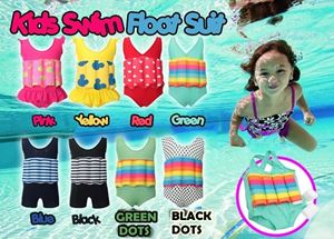 KIDS SWIM FLOAT SUIT N00737