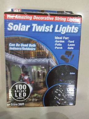 Solar Twist Lights