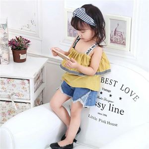 YELLOW XECUTE BABY GIRLS  CLOTHING SETS