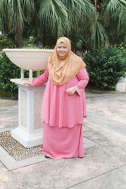 Kurung Doll Raisha - Pink