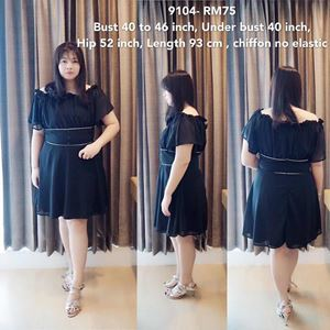 9104 Ready Stock *Bust 40 to 46 inch