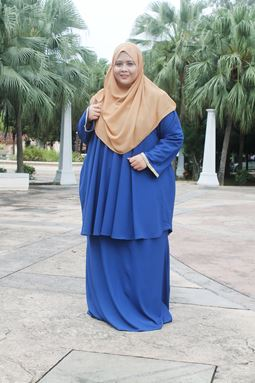 Kurung Doll Raisha - Royal Blue