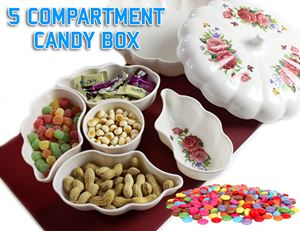5 Compartment Candy Box