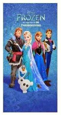 Frozen Towel - Frozen Family