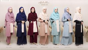 ARDELLA SUIT ( READY STOK )