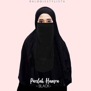 PURDAH HAMRA - BLACK