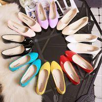 Women Flat PU  Shoes - DESIGN 1 ( 9681 )