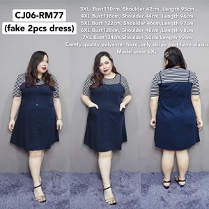 CJ06 *Ready Stock * Bust110-134cm