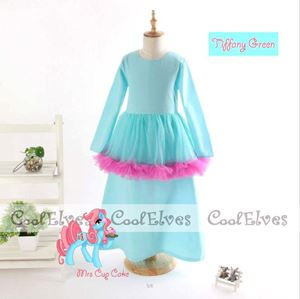 @  MY LITTLE PONY PEPLUM KURUNG   ( TIFFANY GREEN)  ( 2Y - 12Y )