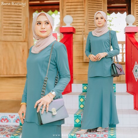 AURA KURUNG MINT BLUE