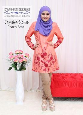 Camelia Blouse Peach Bata