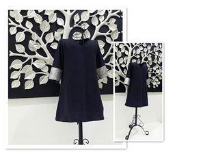 Dress Jubah Baby - Black S0046
