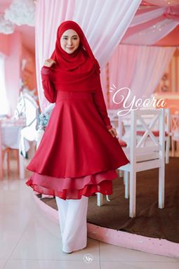 BLOUSE YOORA 2.0  - RED MAROON