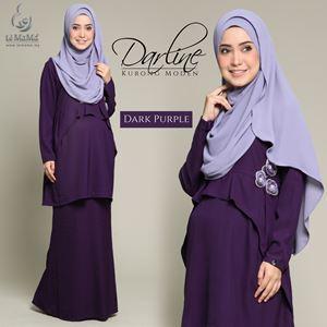 Darline Kurong Moden : Dark Purple