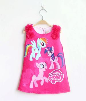 MY LITTLE PONY DRESS HAPPY ROSE