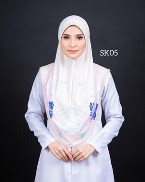 Tudung Sarung Siti Khadijah Berbatu (SK05)