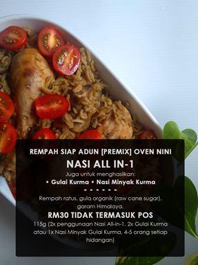 Nasi All- in- 1/ Nasi Minyak Gulai Kurma