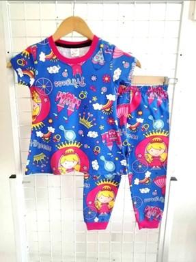 Pyjamas PRINCESS BLUE : BABY 6M- 24M