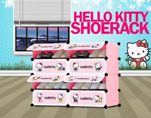 Hello Kitty 8C ShoeRack (HK8SR)