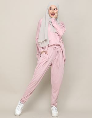 IVY PANTS IN PASTEL PINK
