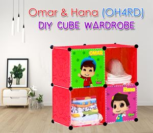Omar & Hana (OH4RD) 4C DIY CUBE WARDROBE