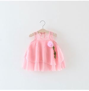 PINK VERANO CUTE DRESS