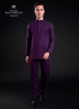 Baju Melayu For Him (Duke Purple)