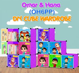 Omar & Hana PURPLE 6C DIY WARDROBE (OH6PP)