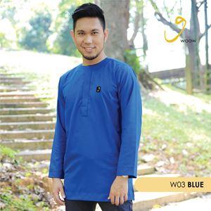 WOOW Shirt - W03 Blue