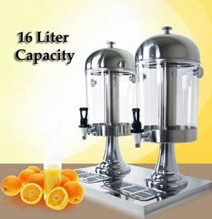CATERING DISPENSER 16L - HEAD SILVER