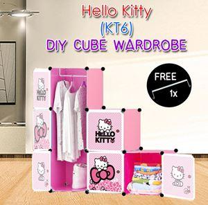 HELLO KITTY 6C DIY WARDROBE (KT6)