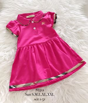 Burberry Dress (Pink) Age 1-5y