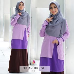 Tihani Blouse (Purple)