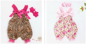 Baby Jumpsuit With Headband