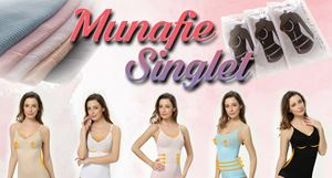 MUNAFIE Singlet (High Quality)
