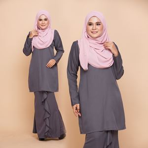 KURUNG NURYN - ROSE GREY
