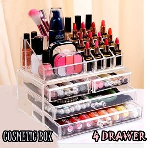 4 DRAWER COSMETIC RACK
