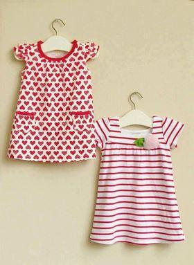 G074/12 MOM & BAB DRESS- DESIGN C  ( 2 IN 1 )