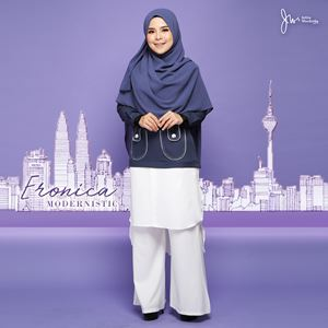 ERONICA MODERNISTIC ~WHITE~ (MOSSY GREY)