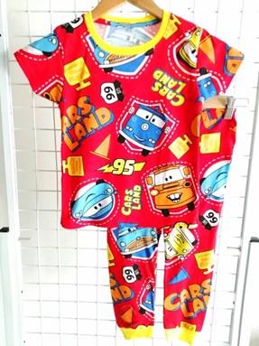 Pyjamas  RED CARS LAND : BABY 12M- 36M