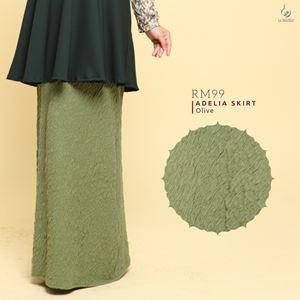 Adelia Skirt LuxeLabel : Olive