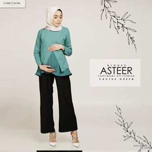 Asteer Blouse - Turtle Green
